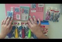 Video tutoriales Scrapbooking / Vídeos en español sobre scrapbooking: tutoriales, cursos y te mostramos productos por dentro, por ejemplo, stack de papeles de scrapbooking.