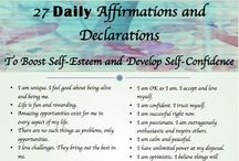 Affirmative Affirmations / by Ma. Teresa Salgado