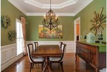 Green dining rooms / by Deana McGarr