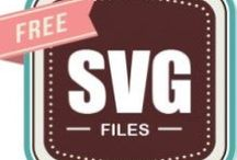 SVG files (FREE) / Free cut files for crafting