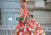 Fashion with flowers