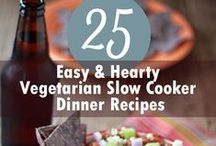 Crock Pot/Slow Cooker Recipes / Delicious and nutritious meals that cook all day long so you don't have to.