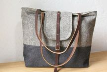 Totes, and purses, and clutches, oh my! / I love me a beautiful bag, casual or formal or one-of-a-kind.