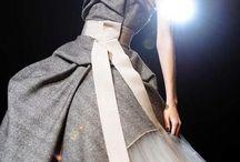 Fashion in grey