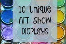 FINE ARTS FESTIVAL IDEAS / Art Show/Display Ideas