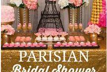 Paris in Love Party Theme / by Beatriz Peña