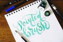 DIY Hand Lettering and Calligraphy / Hand lettering and calligraphy tutorials