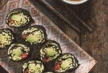 Sushi: ricette vegane / Il 18 Giugno è il Sushi day! Ricette vegane per l'occasione :)