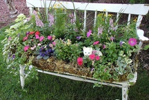 GARDEN SPACES / Lovely spaces in the yard or garden