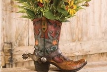 Western decor / by Patricia Eldridge