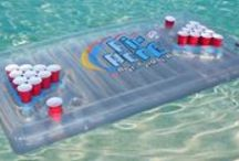 Inflatable Beer Pong Tables / Skip's Garage is proud to offer the best inflatable beer pong tables on the web! All of our items here will ship and arrive within 3-6 business days or they are free! / by Skip's Garage