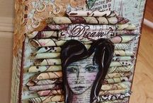 MIXED MEDIA / #art #mixedmedia / by Sugar Lump Studios