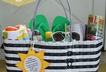 gift ideas / Gift baskets, packages, and ideas for friends, kids, neighbors, teachers, family, coworkers, and your boss.