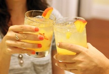 Cheers! / Yummy cocktails and pretty party drinks. / by The Budget Babe