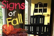 Fall fun / Recipes, crafts, decorating, activities