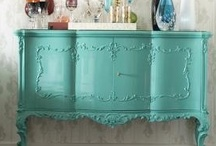 ~Furniture Makeovers~ / Giving life back to the old.