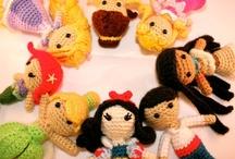 crochet-dolls / by Susan DeVries