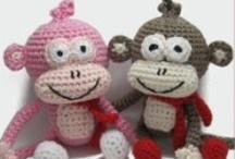 crochet toys / by Susan DeVries