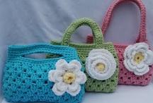 crochet bags & purses / by Susan DeVries