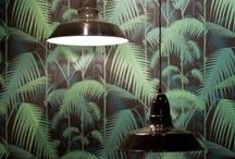 wall covering, fabrics and rugs  / by bij den dom interior design utrecht, the netherlands
