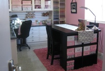 Craft room / by Jessica Farmer-Haverland