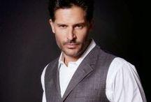 Joe Manganiello / He deserves his own Pinterest board. (Plus he kind of looks like my husband.)