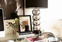 Office Space / Home office decorating / by Lynn W.