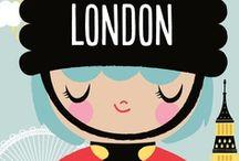 London, England / by Mary Hesdra