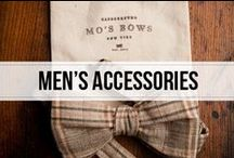 men's accessories  / the details for the perfect outfit