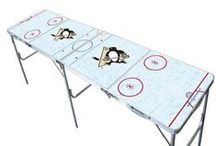 NHL 2x8 Pong Tables / We have a few licensed NHL tables for those fans out there! / by Skip's Garage