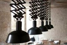 vintage industrial / vintage industrial, combined with contemporary design