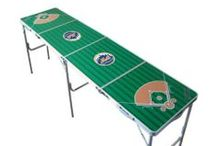 MLB 2x8 Pong Tables / Fully licensed MLB Tailgate Tables. All 30 teams! / by Skip's Garage
