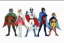 Science Ninja Team Gatchaman / All things dedicated to my favorite old-school anime and it's various American incarnations.