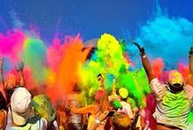 Holi Festival in India / Holi Festival - Festival of colors - India - Colors of the world