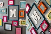 Gallery Wall Ideas / I love the look of a good display of photos with a mix of elements. Hoping for some inspiration!