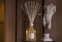 scented candles and home parfums
