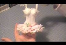 Paper dresses\ dress form