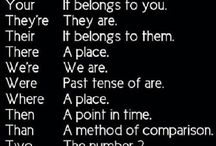 ~Grammar~ / Choose the right word