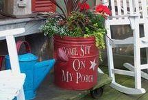 Garden Ideas... / by Dee Williams
