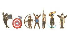 (: Inner Geek  / mostly Doctor Who, Supernatural, movie characters, DC, and Marvel  / by Ingrid Medina