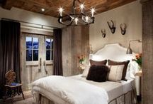 master bedroom and outdoor space... / by Elizabeth Pickering
