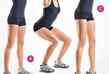 Buns, Butt & Bottoms / Train your gluts, buns and butt with these awesome #exercise programs!