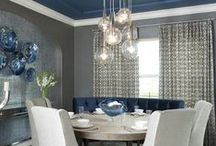 Dining Room Lighting / Formal or informal and all the avenues in between - find fabulous Dining Room lighting here.
