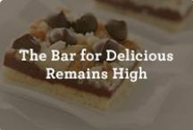 Raising the Bar! / Quick and easy recipes for all of your bar-shaped dessert needs. / by Nestle Very Best Baking