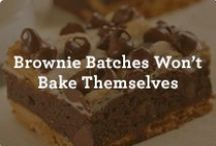 Best-Loved Brownies / A collection of simple recipes for our most beloved brownies. / by Nestle Very Best Baking
