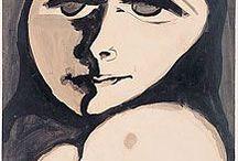 art / - artists - paintings - collage - ink - drawings - sculpture - street art - exhibitions - weavings - marks