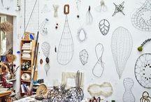 studios, artrooms sewing dens