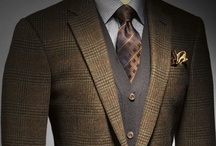 Style For Men  ::  Gentlemen Of Style / Exquisite examples of finery for a well-dressed gentleman and scholar, beginning on the inside and working your way out! / by Shelley Schwarz