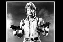 Chuck Norris / The biggest, baddest, man in the whole damm town! / by The Musings & Gleanings of a Sci-fi Chick
