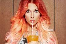 Crazy Hair Colour / by Miss Happ